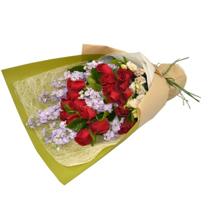 18pcs RED Roses Valentine's Day Bouquet